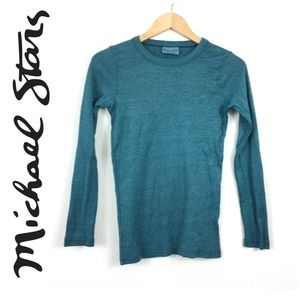 Michael Stars One Size Fits Most Original Tee Top
